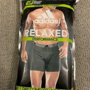 adidas Underwear & Socks - New Adidas Men's relaxed boxer briefs 3pk